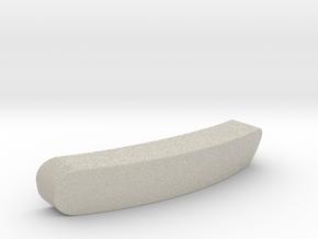 Steelseries Rival 300 Customisable Nameplate in Natural Sandstone