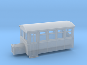 TTn3 4 wheeled railbus version 2  in Frosted Ultra Detail