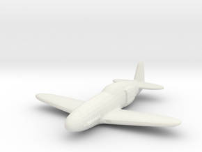 Kawasaki Ki-78 in White Natural Versatile Plastic: 1:200