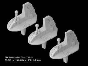 (Armada) 3x Neimoidian Shuttle in Smooth Fine Detail Plastic