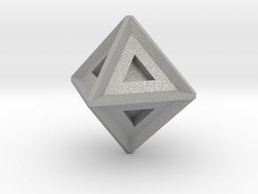Octahedron in Aluminum: Large