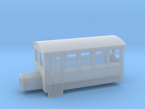 009 4 wheeled railbus version 2 in Frosted Ultra Detail