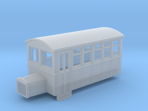 009 4 wheeled railbus version 1 in Frosted Ultra Detail
