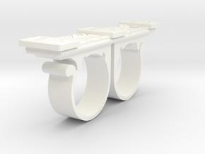Kaecilius sling ring doctor strange in White Processed Versatile Plastic