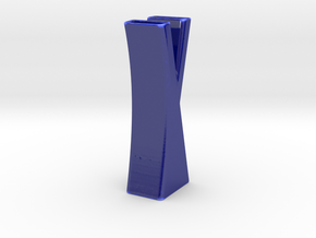 Vase 7 in Gloss Cobalt Blue Porcelain