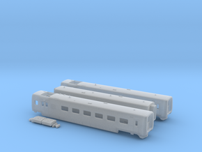 DSB IC3 N [3x body + details] in Smooth Fine Detail Plastic