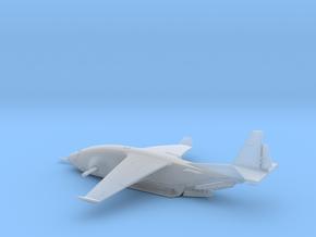 Zues C-135 warplane (small) in Smooth Fine Detail Plastic