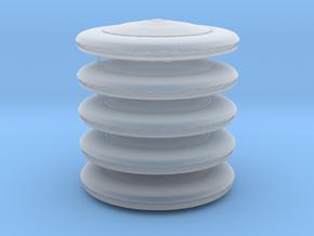 Mothership x5 (V, The Visitors) HiRez, 1/150K in Smooth Fine Detail Plastic