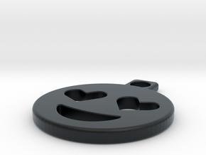 emoji in Black Hi-Def Acrylate
