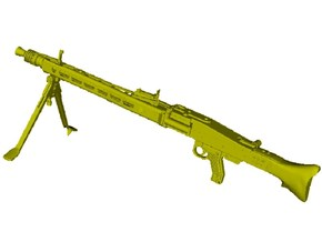 1/4 scale WWII Wehrmacht MG-42 machinegun x 1 in Smooth Fine Detail Plastic