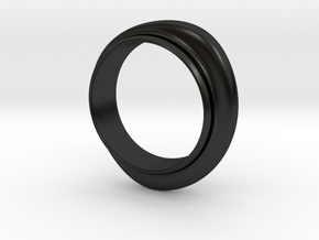 Bracelet A in Matte Black Porcelain