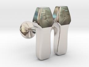 Echo probe in Rhodium Plated Brass