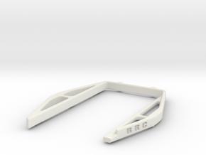 YZ4 Battery Rack in White Natural Versatile Plastic