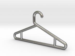 Hanger Keychain V2 in Natural Silver