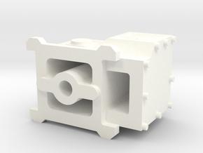 2537-4 Predator Carburetor in White Processed Versatile Plastic