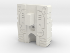 Titan Head Adapter for CW Hound/Swindle in White Natural Versatile Plastic