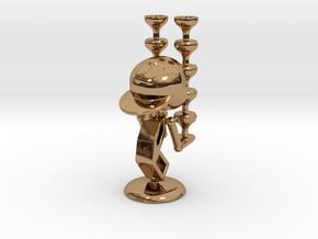 "LaLa ""Balancing Wine Glass"" - DeskToys in Polished Brass"