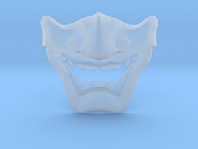 SamuraI Mask V1 Style  in Smooth Fine Detail Plastic