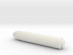 1/144 Scale UGM-96 Trident I C4 SLBM in White Natural Versatile Plastic