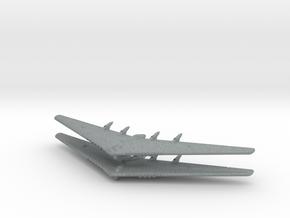 YB-35 Flying Wing- (Global War)- (Qty. 2) in Polished Metallic Plastic