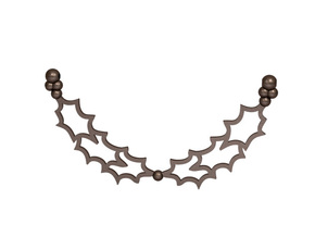 Necklace in Matte Bronze Steel