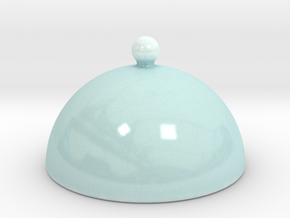 Dome For Cake Stand B in Gloss Celadon Green Porcelain