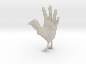 Hand Turkey in Sandstone: Small