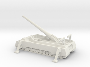 1/300 Scale P1500 Long Range Gun in White Natural Versatile Plastic