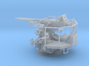 1/32 40mm Bofors Twin Mount USN WWII ships in Smooth Fine Detail Plastic