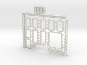 HOviM11 - Modular city house N°2 in White Natural Versatile Plastic