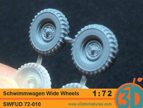 Schwimmwagen Wide Wheels 1/72 scale SWFUD-72010 in Frosted Ultra Detail