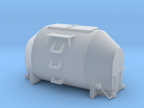 Efkr Dry Bulk Container - HOscale in Frosted Extreme Detail