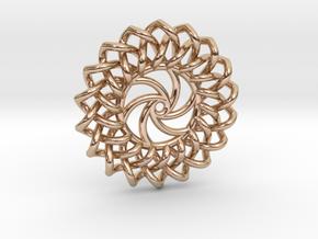Radia Pendant in 14k Rose Gold Plated