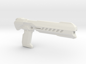 Andy's Armory: AA BLST 001 Heavy Pistol in White Natural Versatile Plastic