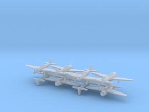 1/600 A6M w/Gear x8 (FUD) in Smooth Fine Detail Plastic