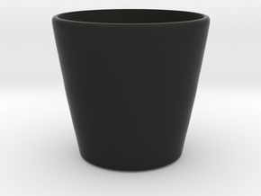 Cup in Black Strong & Flexible