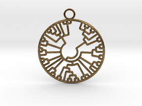Phylogenetic Tree in Natural Bronze