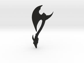 Battle-axe in Black Strong & Flexible