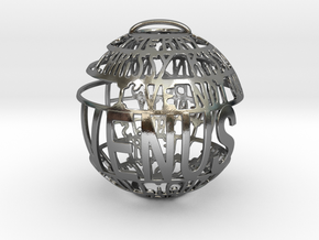 Venus Quotaball in Polished Silver