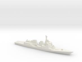 Atago-class Destroyer, 1/2400 in White Natural Versatile Plastic