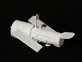 Hubble Space Telescope in White Strong & Flexible