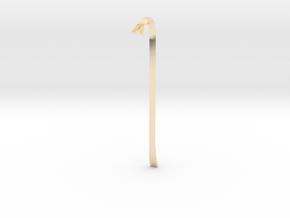 boOpGame Shop - Half-Life Crowbar in 14K Yellow Gold