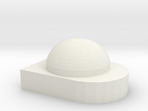 1/64 Greenstar globe New Style in White Natural Versatile Plastic