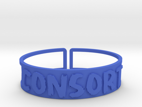 Consort in Blue Processed Versatile Plastic