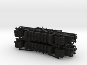 N05B - A Set Waratah Trailer Chassis - Part B in Black Strong & Flexible