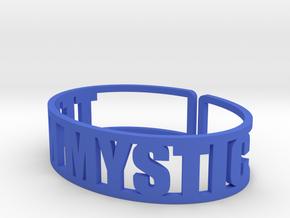 Team Mystic in Blue Processed Versatile Plastic