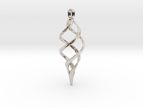 Kaladesh Pendant in Platinum