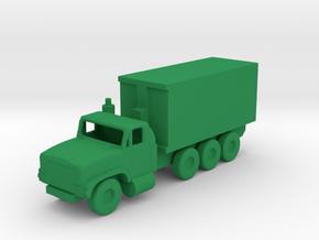 1/200 Scale Oshkosh MTVR 16 Ton Container Truck in Green Processed Versatile Plastic