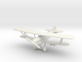 Hawker Hart 1/144 in White Natural Versatile Plastic