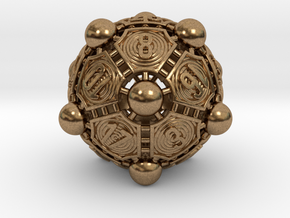 Nucleus D20 XL in Natural Brass